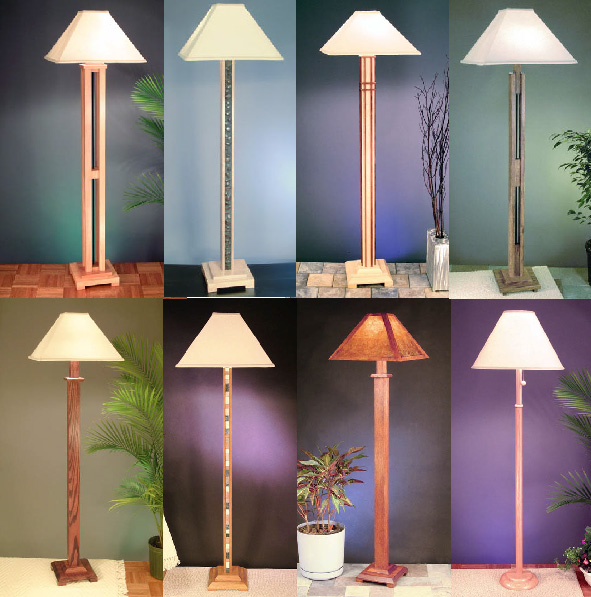 Arts  Crafts Floor Lamps on Floor Lamps
